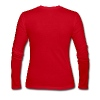 Red ::KEEP IT COUNTRY:: Women - Women's Long Sleeve Jersey T-Shirt