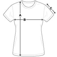 Women's T-Shirt   Fruit of the Loom L3930R