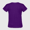Rainbow Kitty Ears Womens Purple T-shirt - Women's T-Shirt