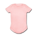Baby/human wash tag Baby Short Sleeve One Piece