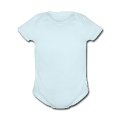 bunny RABBIT FEET and tail from behind Baby Short Sleeve One Piece