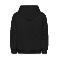 scary halloween dudes at the cemetery Kids' Hooded Sweatshirt