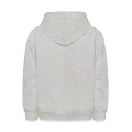 Unusual Peace Symbol In Silhouette Kids' Hoodie