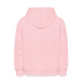mrs bossy with little love hearts Kids' Hooded Sweatshirt