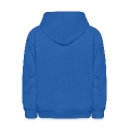 mountains - hill - nature - waves - water Kids' Hooded Sweatshirt