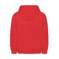 Red flower USA Kids' Hoodie