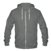 MaddenGamers MG Logo - Unisex Fleece Zip Hoodie by American Apparel