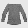 NAPPY BY NATURE Long Sleeve Shirts - Women's Wideneck Sweatshirt