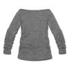 NEW Second Lead Syndrome Wide-Neck Sweater - Women's Wideneck Sweatshirt