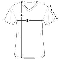 Men's V-Neck T-Shirt | Bella + Canvas 3005