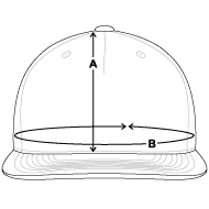 Size chart - Snap-back Baseball Cap