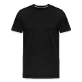 grunge ribbon awareness Men's Premium T-Shirt