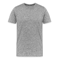 strange plane with knot (1c) Men's Premium T-Shirt