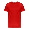 Big Poppa With Outline Men's Premium T-Shirt
