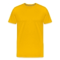 river kayak and paddler outdoors Men's Premium T-Shirt