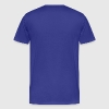 Royal blue xxx checker (2c) T-Shirts - Men's Premium T-Shirt