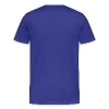 Real Vikings Don't Wear Horns - Royal Blue T-Shirt - Men's Premium T-Shirt