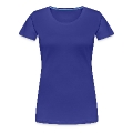 Cat Paw Track Women's Premium T-Shirt
