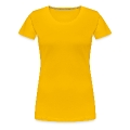 hotdog with mustard Women's Premium T-Shirt