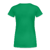 Sweet Green [W - White Logo] - Women's Premium T-Shirt