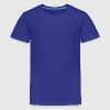 Royal blue Angel wings Kids Shirts - Kids' Premium T-Shirt