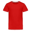 Red flower USA Kids' Premium T-Shirt