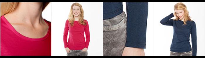 Women's Premium Slim Fit Long Sleeve T-Shirt