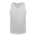 mustache and glasses Men's Premium Tank
