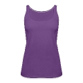 cherries silhouette Women's Premium Tank Top