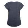 Capricorn Sun Women´s Rolled Sleeve Boxy T-Shirt - Women's Roll Cuff T-Shirt