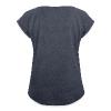 Capricorn Sun Women´s Rolled Sleeve Boxy T-Shirt - Women's Roll Cuff T-Shirt