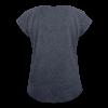 prayer for freedom - Women's Roll Cuff T-Shirt