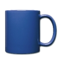 mustache Full Color Mug