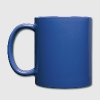 Blue Jeep Wrangler Cartoon Mugs & Drinkware - Full Color Mug