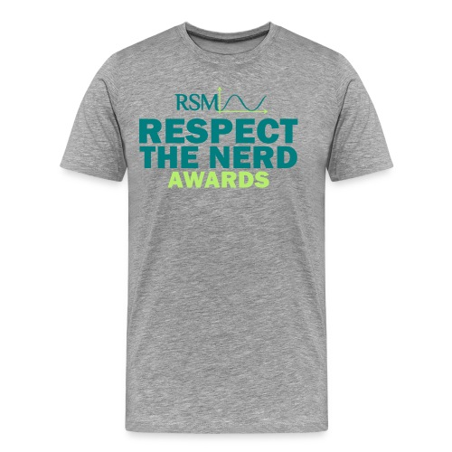 Men's Premium T-Shirt - the,respect,nerd