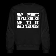 Long Sleeve Shirts ~ Men's Crewneck Sweatshirt ~ Rap Music