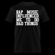 T-Shirts ~ Men's T-Shirt ~ Rap Music
