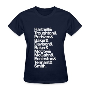 Doctor's Last Names - Women's T-Shirt