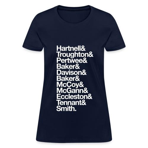 Doctor's Last Names - Women's T-Shirt
