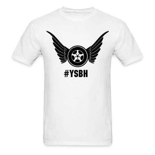 Wings and wheels  - Men's T-Shirt
