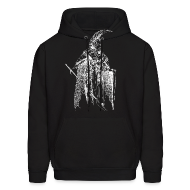 Hoodies ~ Men's Hoodie ~ Indoril (White) - Sweatshirt