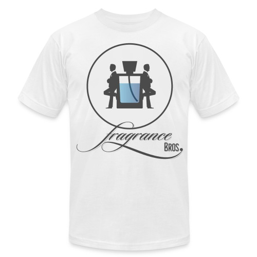 logo_grey-bg_large.png - Men's Fine Jersey T-Shirt