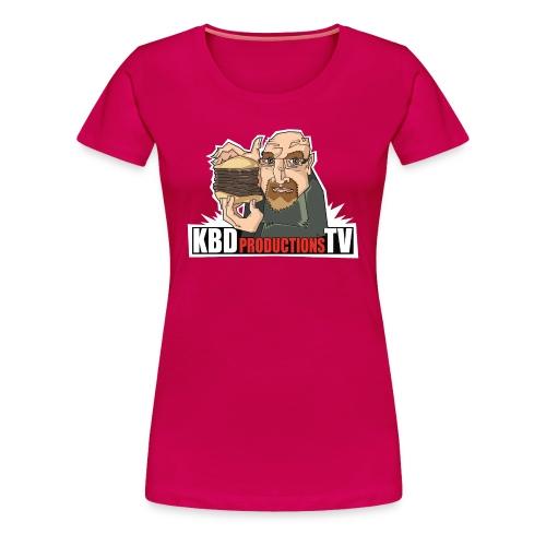 Ken Holding Burger - Women's Premium T-Shirt