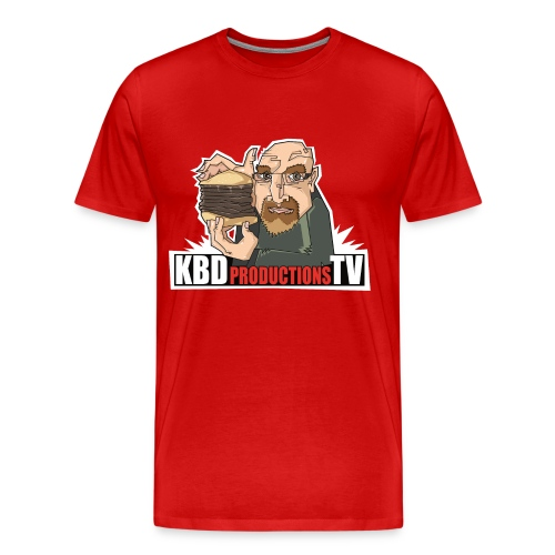 Ken Holding Burger - Men's Premium T-Shirt