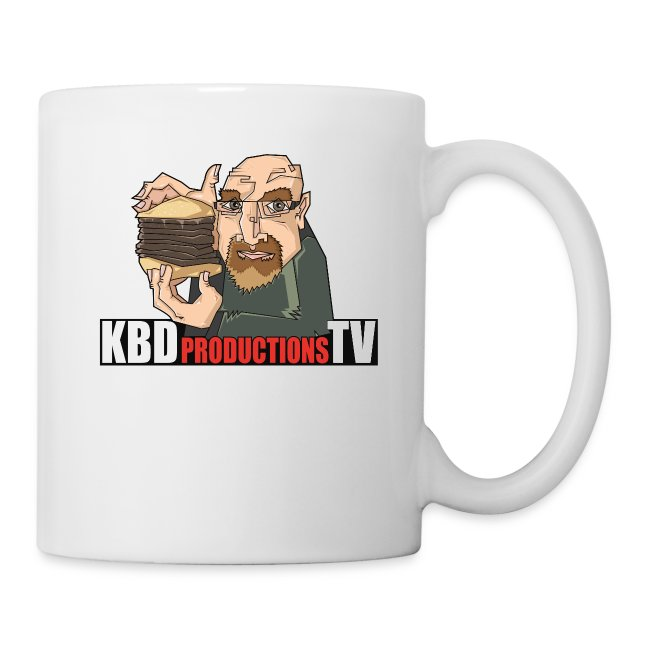 Ken Holding Burger Mug