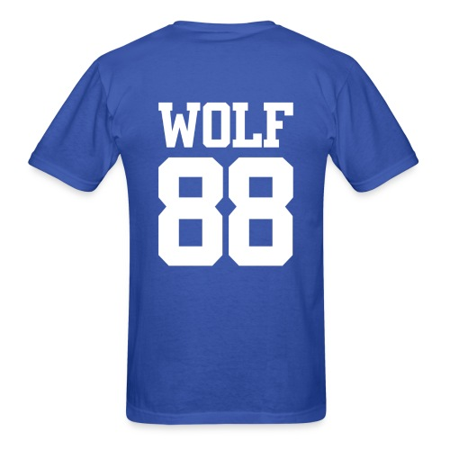 Wolf 88 (Blue) - Men's T-Shirt
