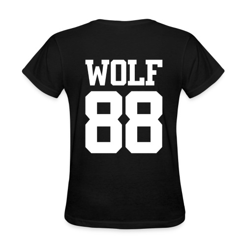 Wolf 88 (Black) - Women's T-Shirt