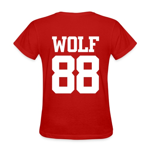 Wolf 88 (Red) - Women's T-Shirt