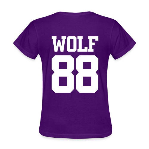 Wolf 88 (Purple) - Women's T-Shirt