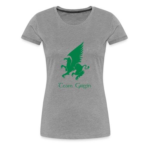 Women's Gray Premium T-Shirt - Women's Premium T-Shirt
